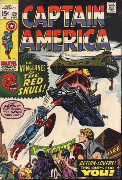 Captain America 129 - The Vengeance of the Red Skull
