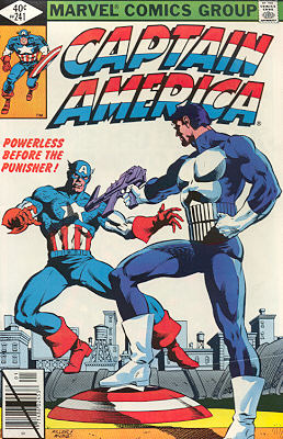 Captain America 241 - Fear Grows in Brooklyn!