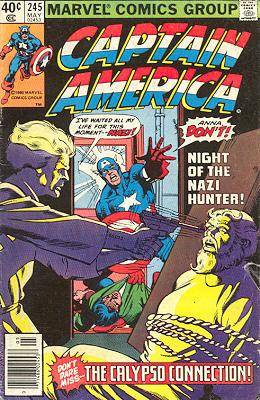 Captain America 245 - -- The Calypso Connection!