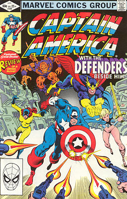 Captain America 268 - Peace on Earth -- Good Will to Man