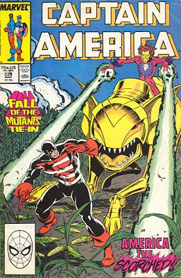Captain America 339 - America The Scorched!