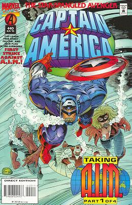 Captain America 440 - Dawn's Early Light