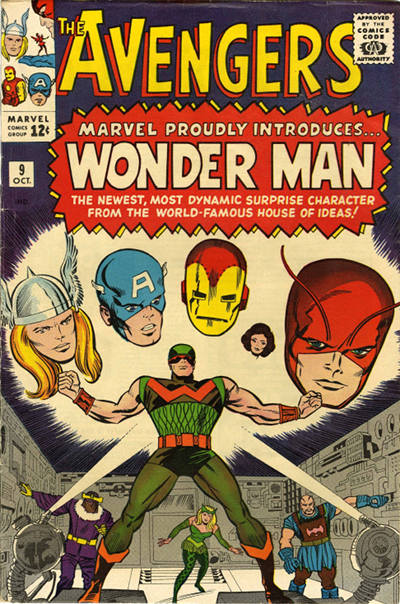 Avengers 9 - The Coming of the... Wonder Man!