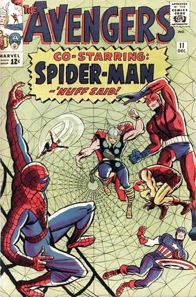 Avengers 11 - The Mighty Avengers Meet Spider-Man!