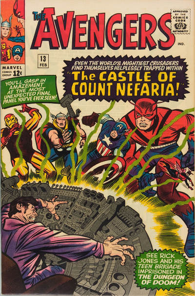 Avengers 13 - Trapped in... the Castle of Count Nefaria!