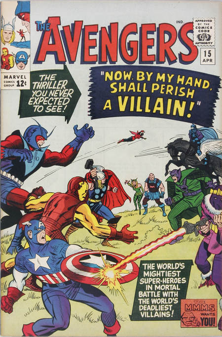 Avengers 15 - Now, By My Hand, Shall Die a Villain!