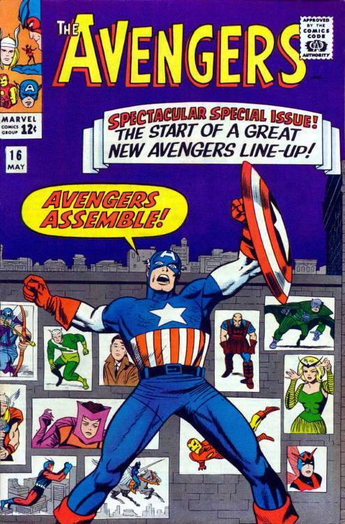 Avengers 16 - The Old Order Changeth!