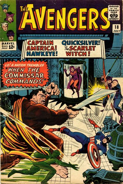Avengers 18 - When the Commissar Commands!
