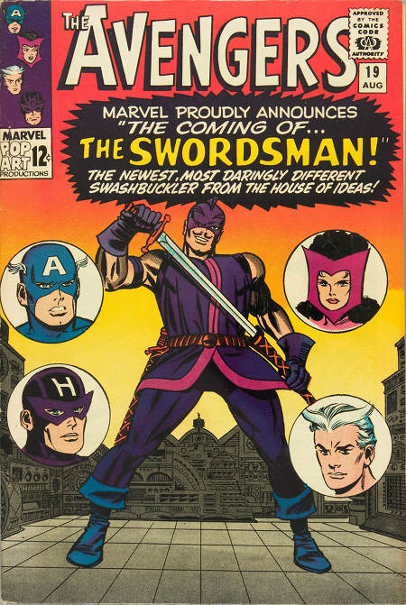 Avengers 19 - The Coming of... The Swordsman!