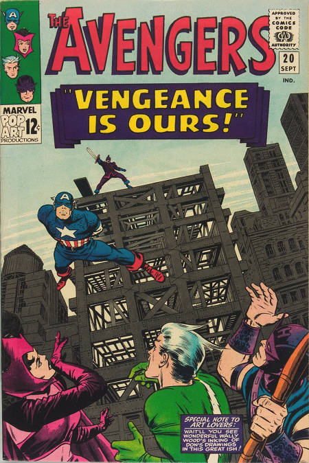 Avengers 20 - Vengeance Is Ours!