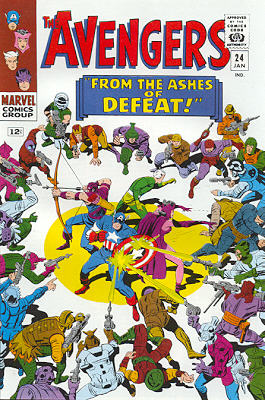 Avengers 24 - From the Ashes of Defeat--!