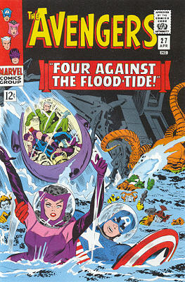 Avengers 27 - Four Against the Flood-Tide!