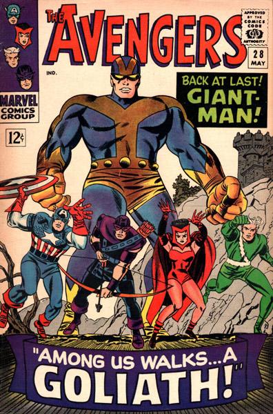 Avengers 28 - Among Us Walks... A Goliath!