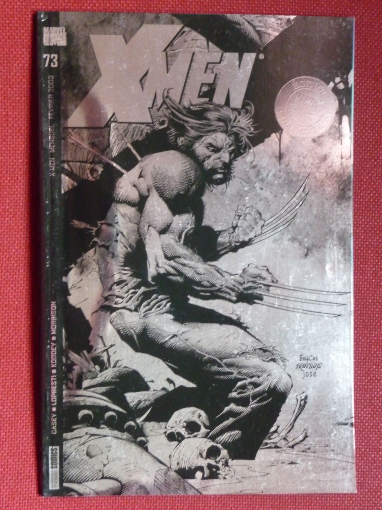 X-Men 73 - Couverture variant rare