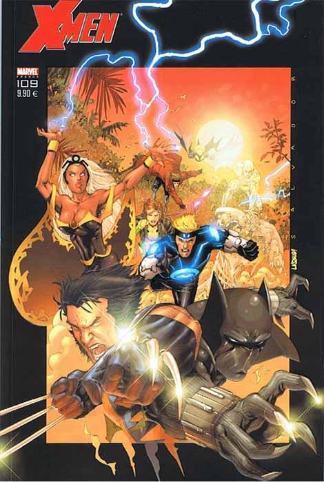 X-Men 109 - Couverture Variant