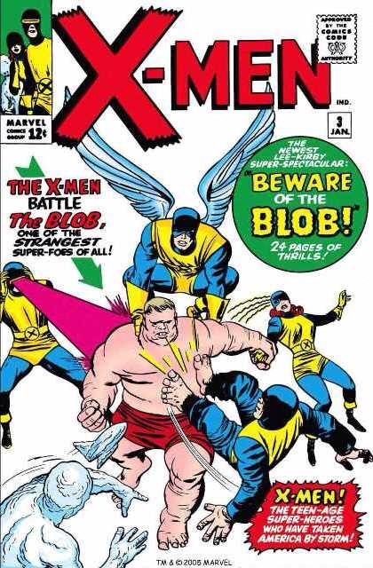 Uncanny X-Men 3 - Beware of the Blob!