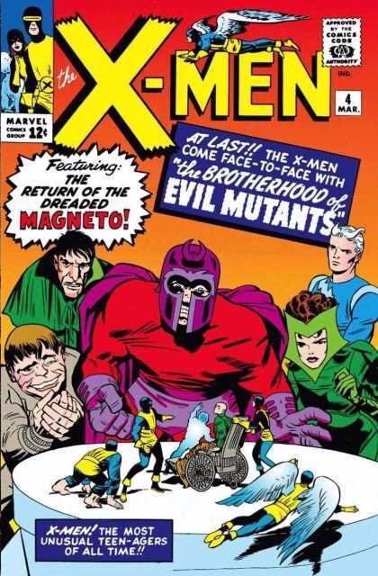 Uncanny X-Men 4 - The Brotherhood of Evil Mutants!