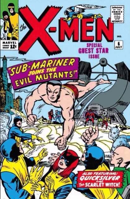 Uncanny X-Men 6 - Sub-Mariner Joins the Evil Mutants!