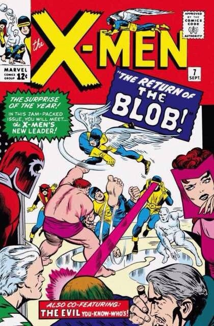 Uncanny X-Men 7 - The Return of the Blob!