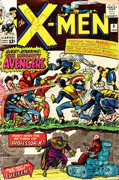 Uncanny X-Men 9 - Enter, the Avengers!