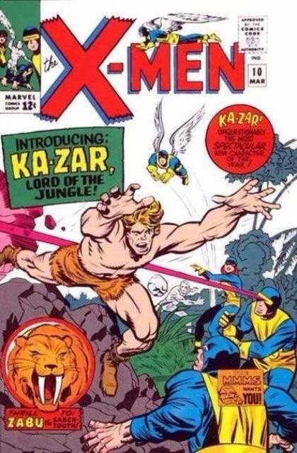 Uncanny X-Men 10 - The Coming of... Ka-Zar!