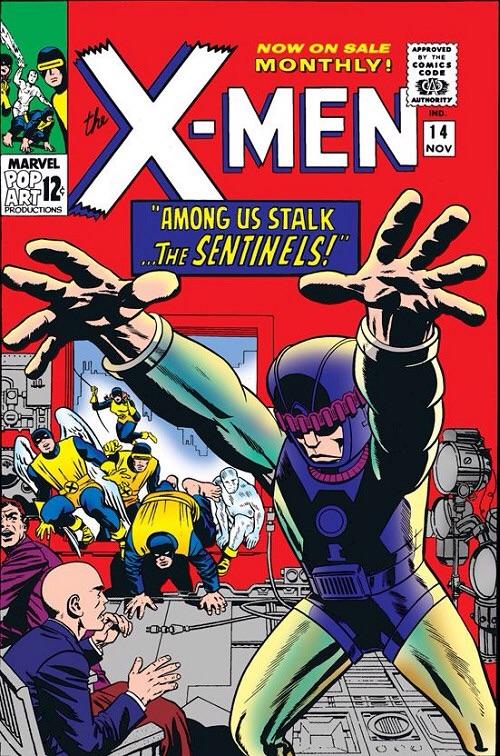 Uncanny X-Men 14 - Among Us Stalk... The Sentinels!