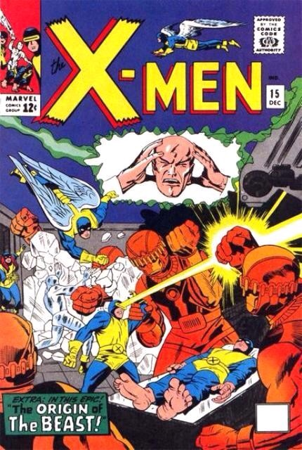 Uncanny X-Men 15 - Prisoners of the Mysterious Master Mold!
