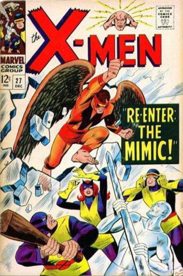 Uncanny X-Men 27 - Re-Enter: The Mimic!