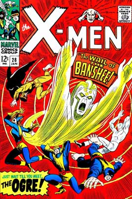 Uncanny X-Men 28 - The Wail of the Banshee!