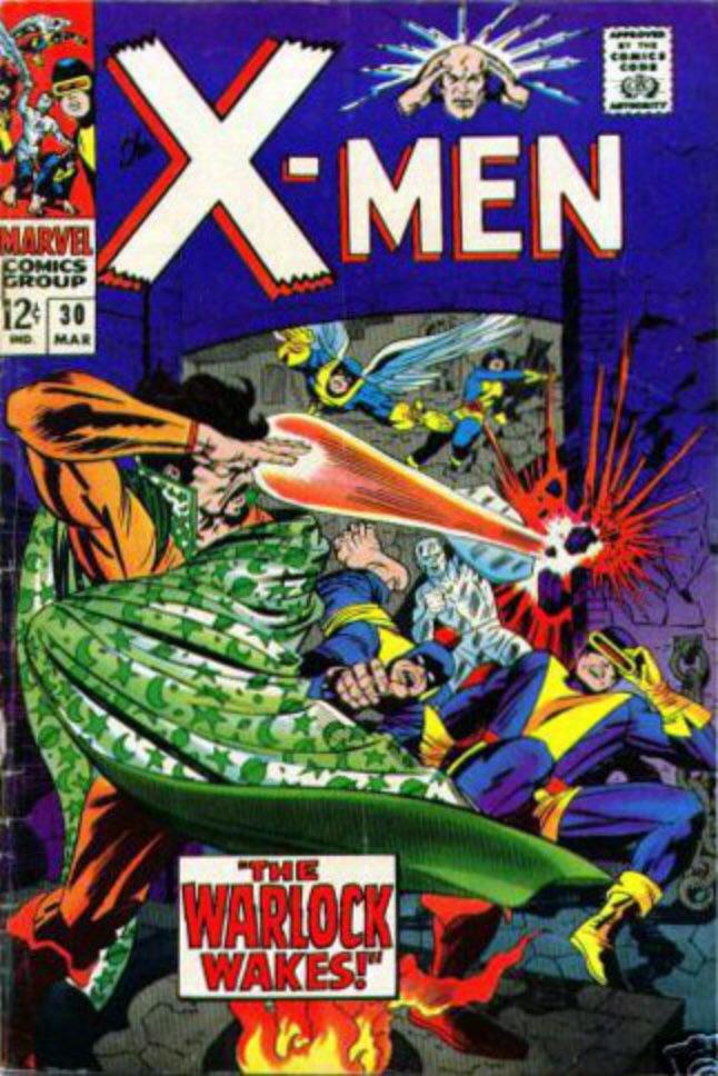 Uncanny X-Men 30 - The Warlock Wakes!