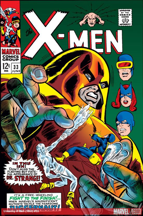 Uncanny X-Men 33 - Into the Crimson Cosmos!