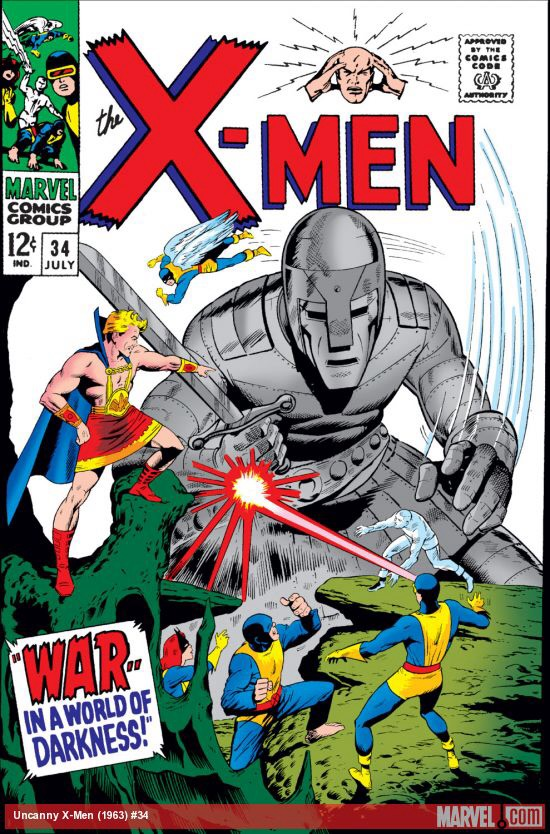 Uncanny X-Men 34 - War - - In a World of Darkness!