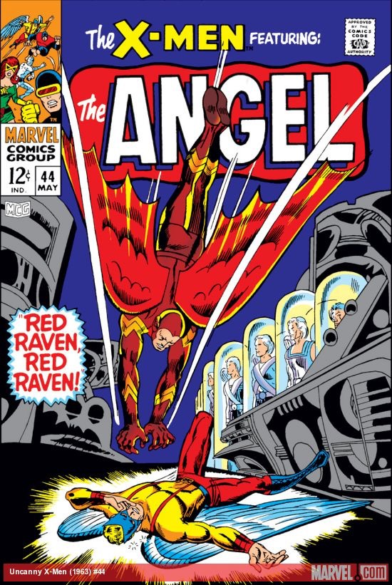 Uncanny X-Men 44 - Red Raven, Red Raven...!