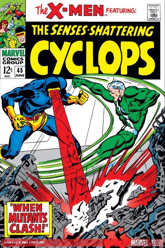 Uncanny X-Men 45 - When Mutants Clash!