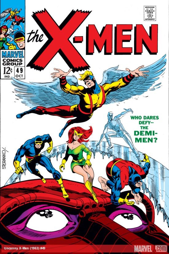 Uncanny X-Men 49 - Who Dares Defy ... The Demi-Men? / The Beast Is Born