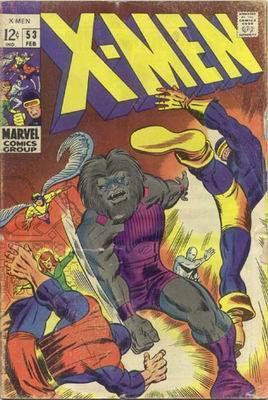 Uncanny X-Men 53 - The Rage of Blastaar!
