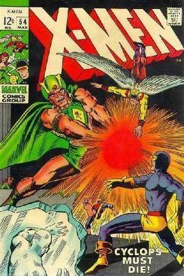 Uncanny X-Men 54 - Wanted: Dead or Alive -- Cyclops!