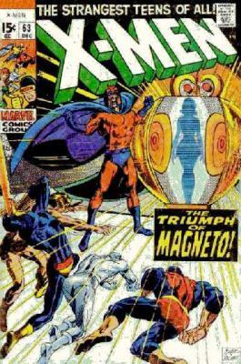 Uncanny X-Men 63 - War in the World Below!