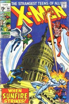 Uncanny X-Men 64 - The Coming of Sunfire!