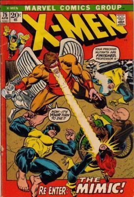 Uncanny X-Men 75 - Re-Enter The Mimic!