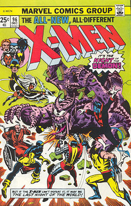 Uncanny X-Men 96 - Night of the Demon!
