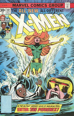 Uncanny X-Men 101 - Like a Phoenix, From the Ashes!
