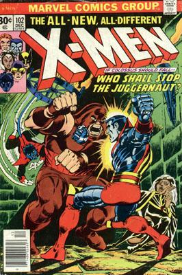 Uncanny X-Men 102 - Who Shall Stop the Juggernaut?