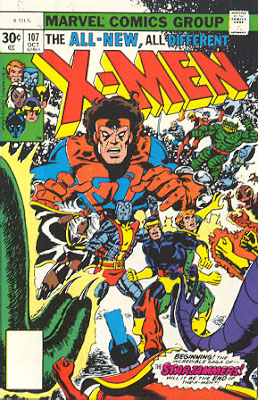 Uncanny X-Men 107 - Where No X-Man Has Gone Before!