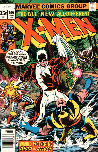 Uncanny X-Men 109 - Home are the Heroes!