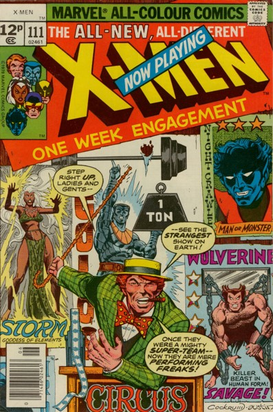 Uncanny X-Men 111 - Mindgames!