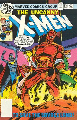 Uncanny X-Men 116 - To Save the Savage Land
