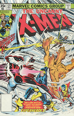 Uncanny X-Men 121 - Shoot-Out at the Stampede!