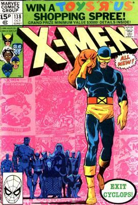 Uncanny X-Men 138 - Elegy