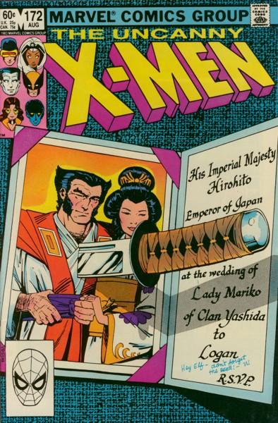 Uncanny X-Men 172 - Scarlet in Glory